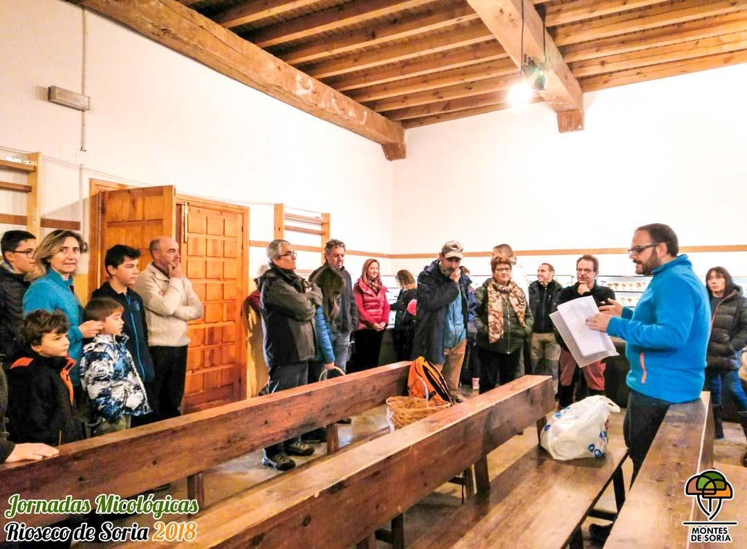Jornadas Micológicas Rioseco de Soria 2018 coloquio