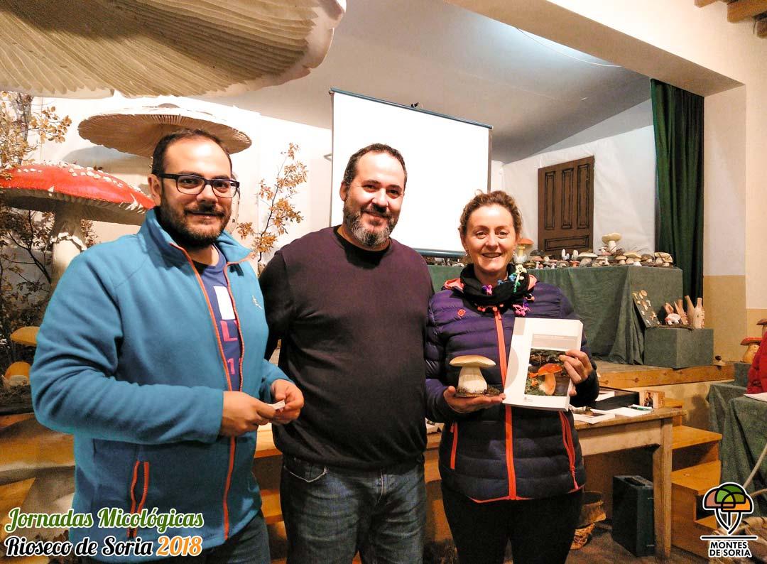 Jornadas Micológicas Rioseco de Soria 2018 premios 1
