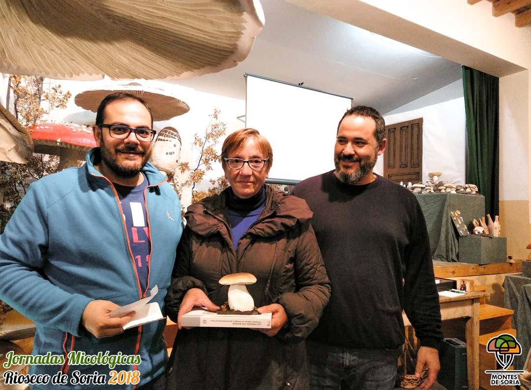 Jornadas Micológicas Rioseco de Soria 2018 premios 2