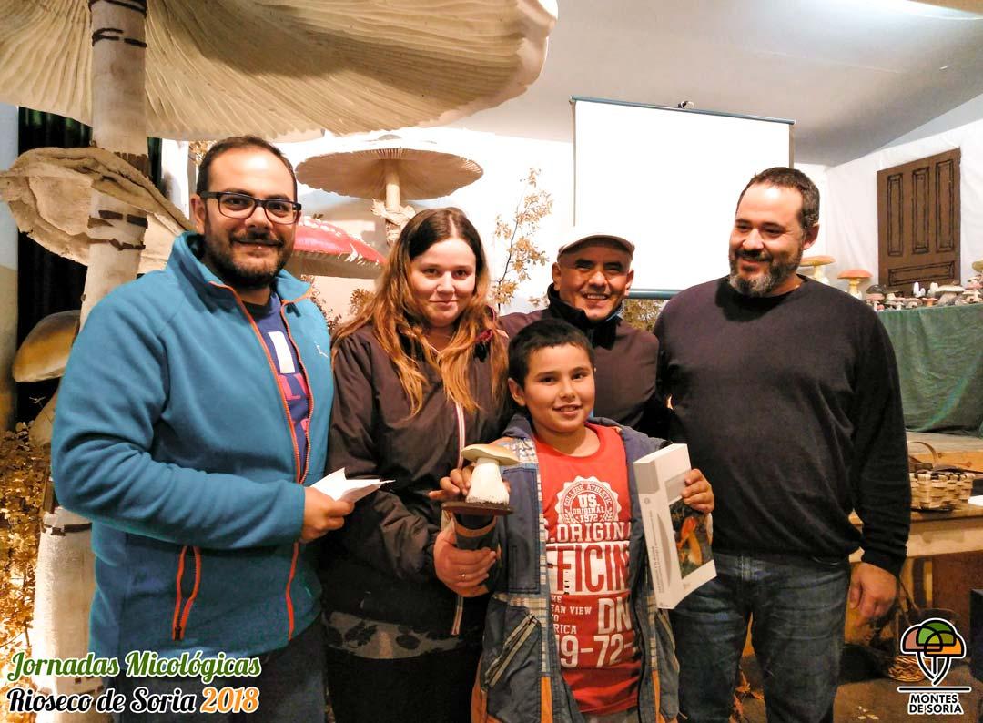 Jornadas Micológicas Rioseco de Soria 2018 premios 3