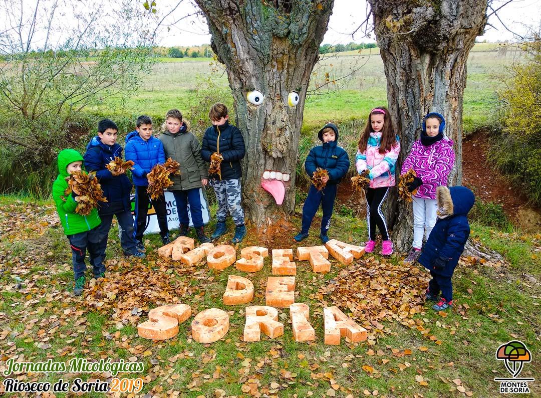Jornadas Micológicas Rioseco de Soria 2019 niños