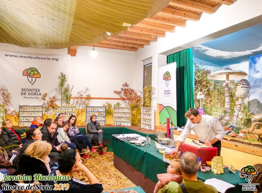Jornadas Micológicas Rioseco de Soria 2019 taller cocina