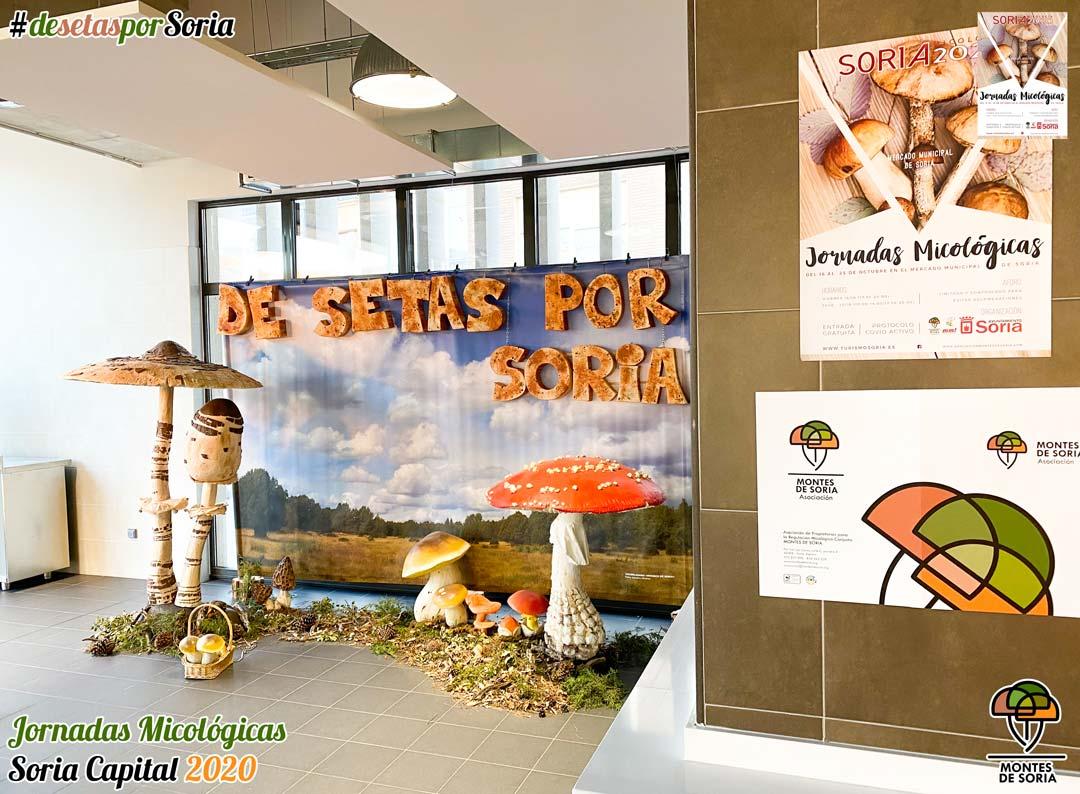 Jornadas Micológicas Soria 2020 photocall