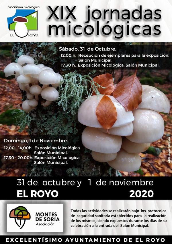 Jornadas Micológicas El Royo 2020
