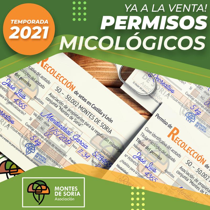 Abierta la venta de permisos micológicos 2021 portada