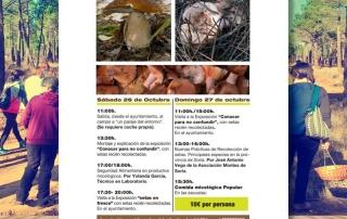 Jornadas Micológicas Fuentecantos 2019 portada