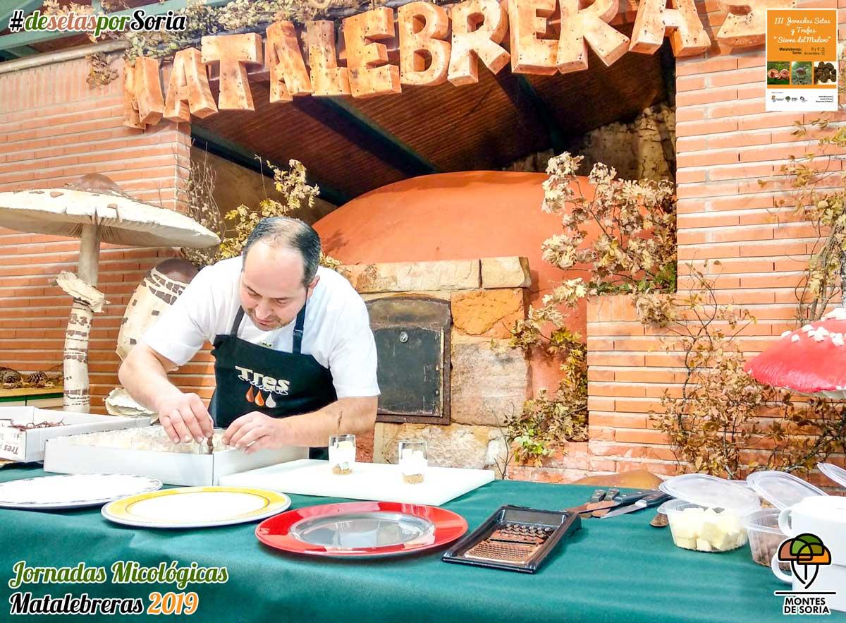 Jornadas Micológicas Matalebreras 2019 taller cocina