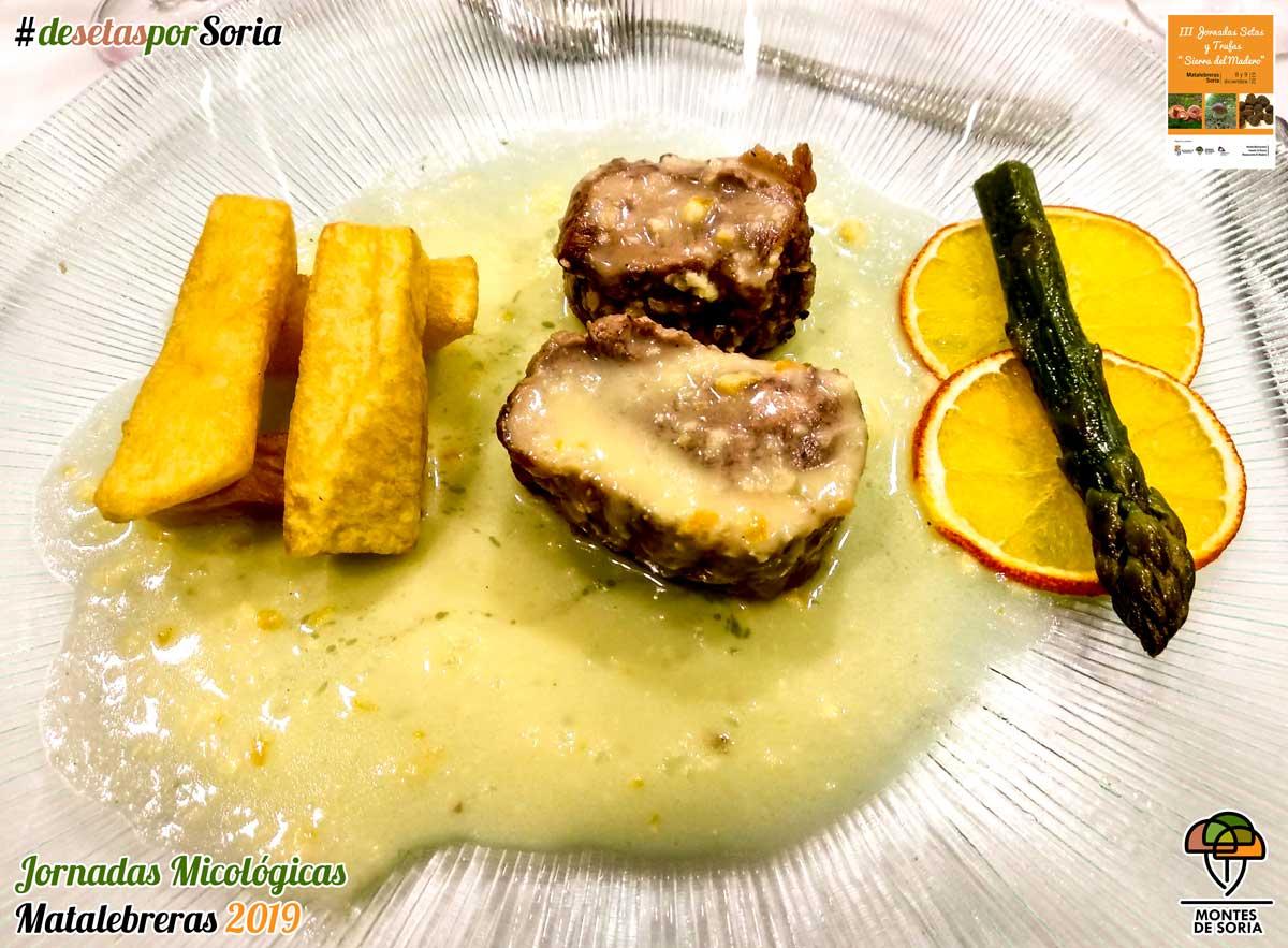 Jornadas Micológicas Matalebreras 2019 recetas culinarias