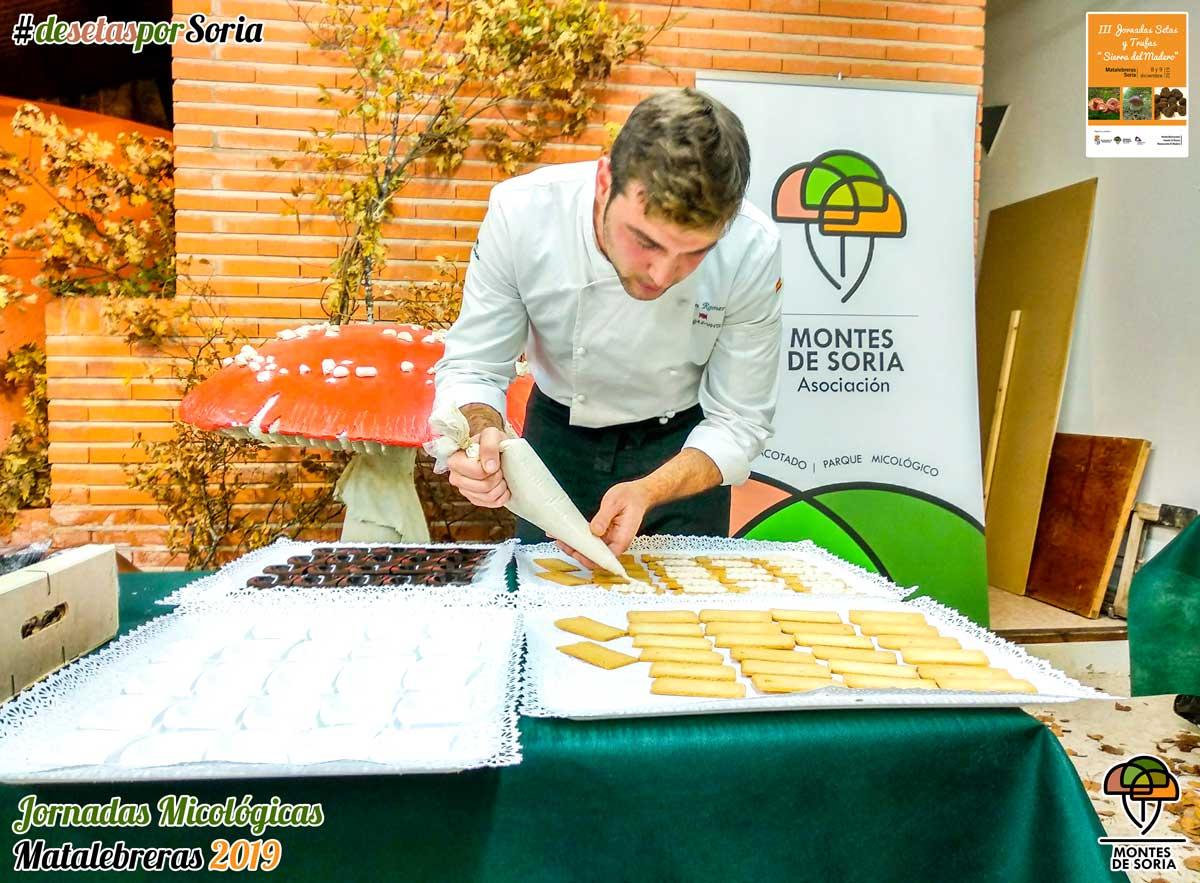Jornadas Micológicas Matalebreras 2019 taller cocina micológica