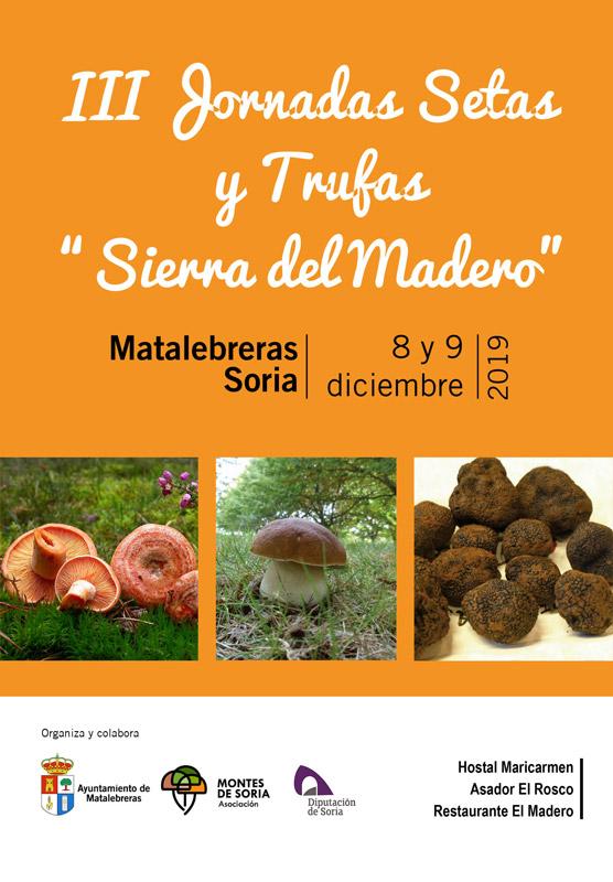 Jornadas Micológicas Matalebreras 2019 cartel web