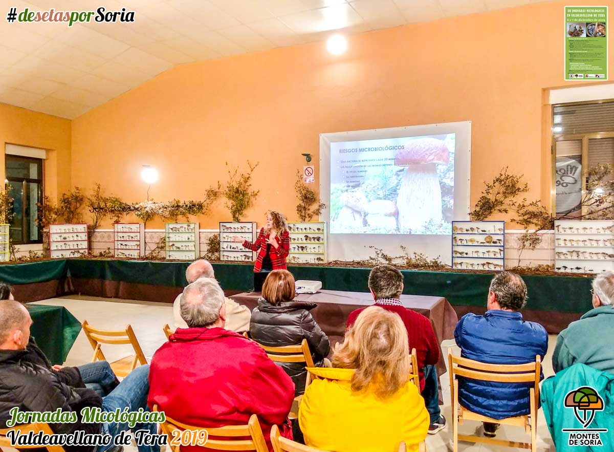 Jornadas Micológicas Valdeavellano de Tera 2019 charla