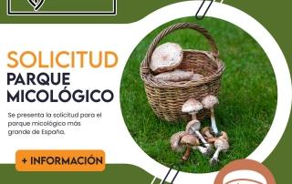 Solicitud Parque Micológico de Soria portada