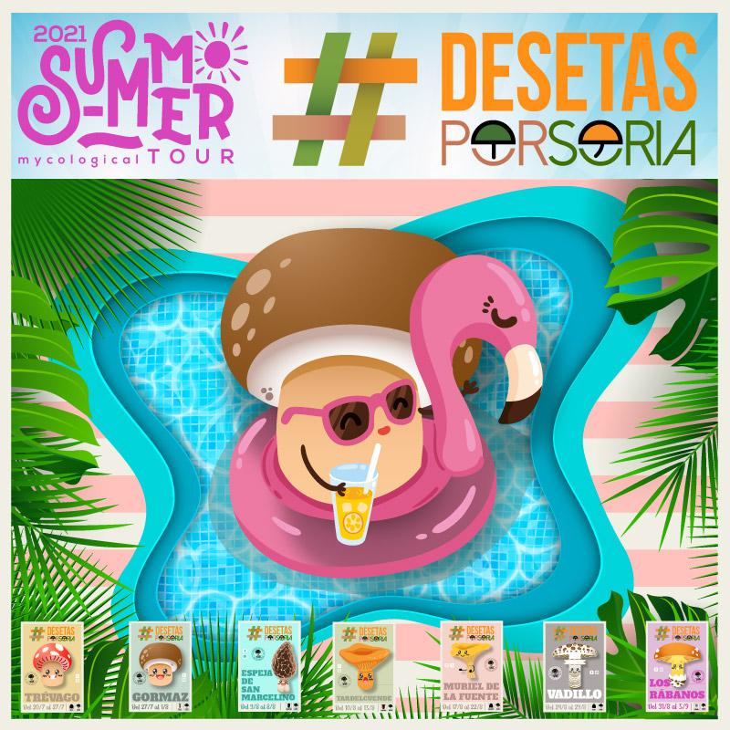 De setas por Soria Summer Tour 2021 portada