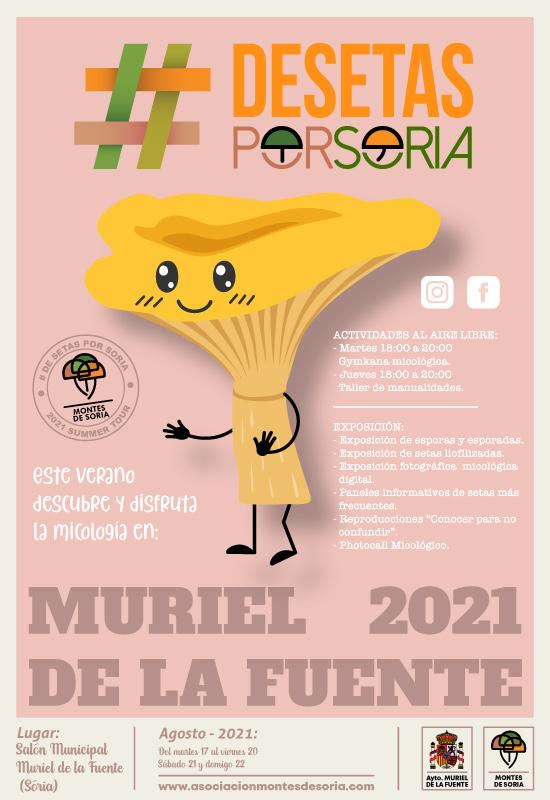 De setas por Muriel de la Fuente cartel