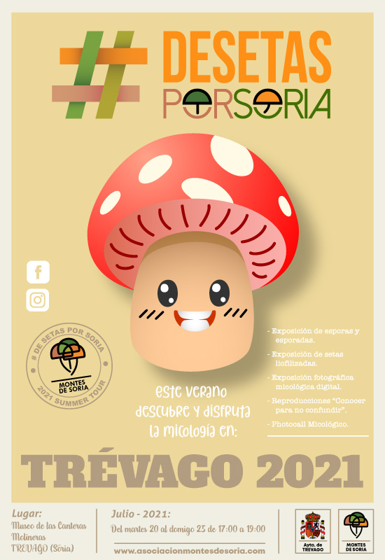 De setas por Trévago 2021 cartel