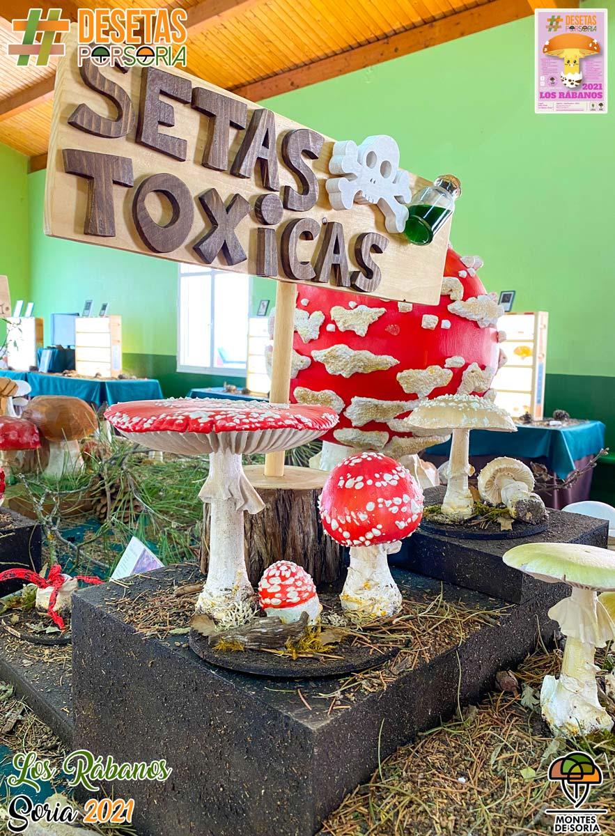 De setas por Los Rábanos setas tóxicas