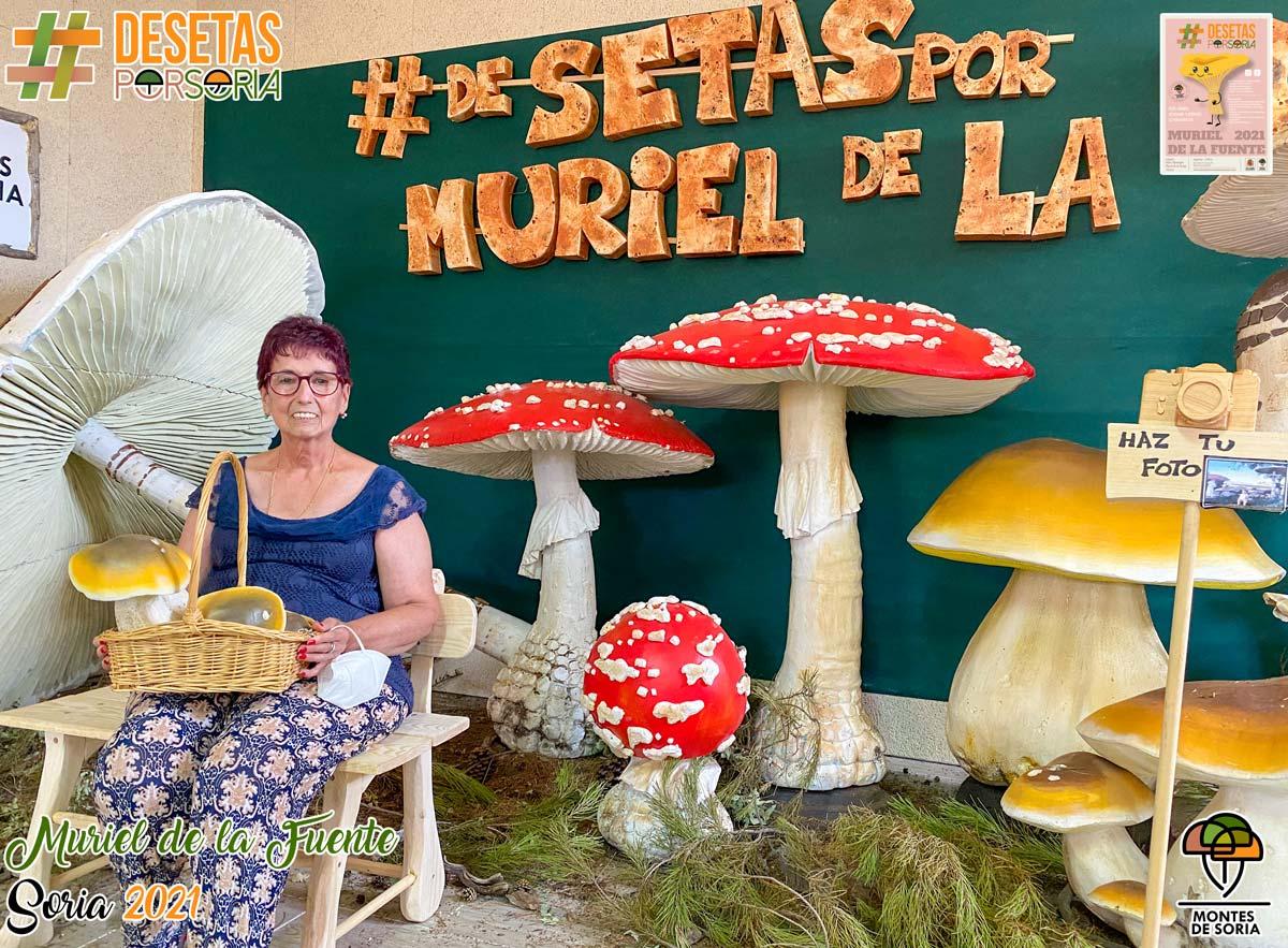 De setas por Muriel de la Fuente photocall 2
