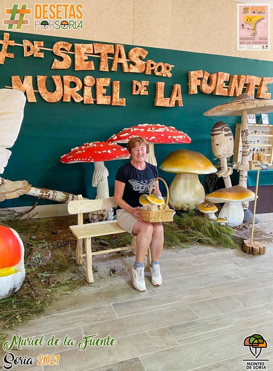 De setas por Muriel de la Fuente photocall vertical