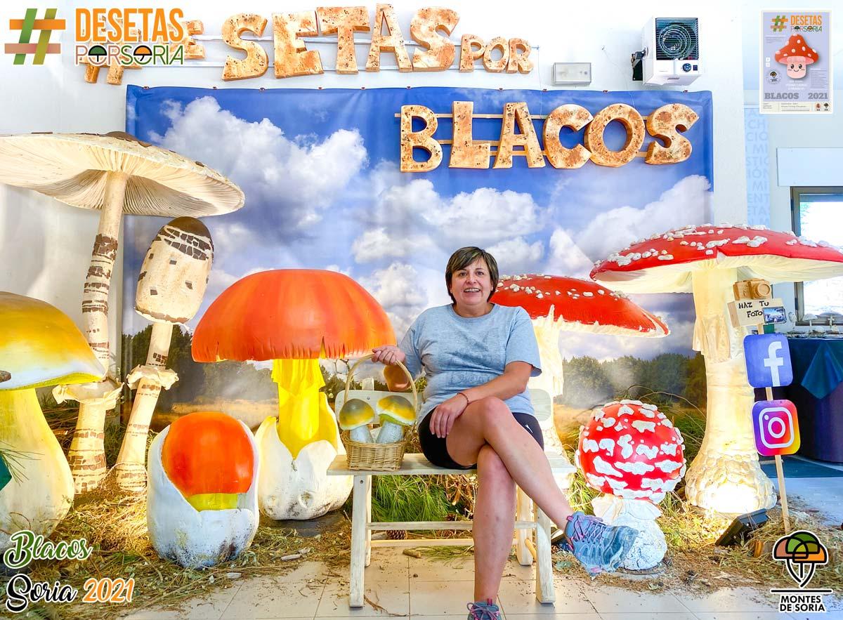 De setas por Blacos 2021 photocall visitante