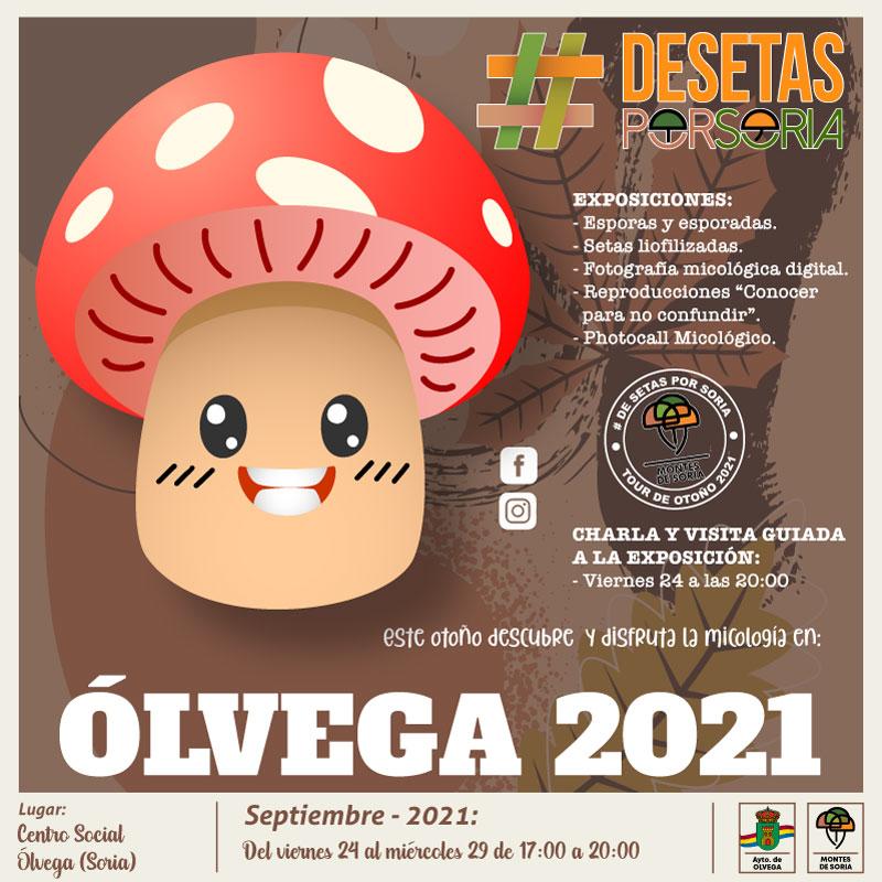 De setas por Soria - Ólvega 2021 portada