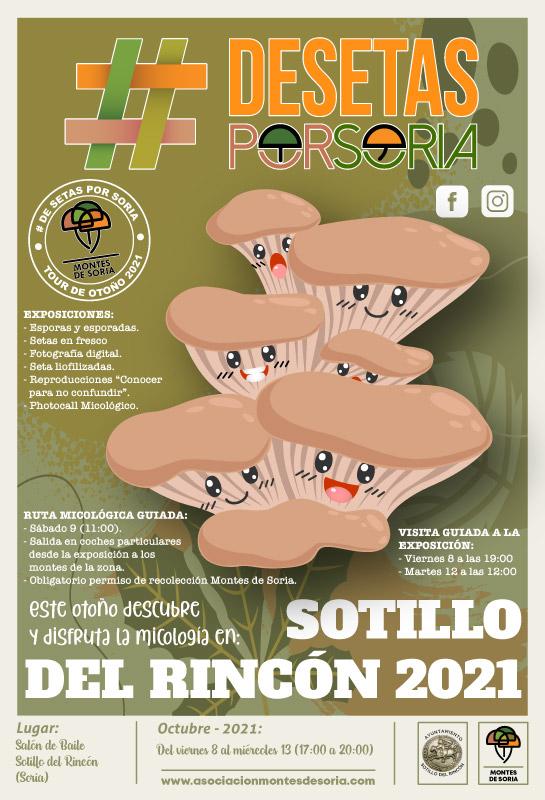 De setas por Soria - Sotillo del Rincón 2021 cartel
